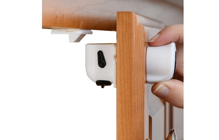 Home Solutions Magnetic Locks Come With 3M Adhesive Tape On The Lock And  The Catcher. One Lock And Catcher Are Already Loaded ...